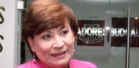 """Recordó la ex alcaldesa de La Paz que su administración pasó por una crisis económica que abarcó a todo el país, pero que aún así, siempre priorizó el pago de los trabajadores, """"no dejamos debiendo ni un peso a ningún trabajador""""."""