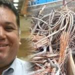 """Zavala Agúndez sabe que el problema tiene recovecos que no quieren ser develados. Buscando ir a lo más elemental, se plantea, """"¿dónde compran el cobre?"""", es decir, quién mantiene el vicio del robo de este material y de qué manera se beneficia el comprador con el producto robado."""