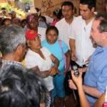 Los colonos se enteraron que apoyarán a Caribe y ahora llegaron a exigir se les apoye ante la CFE.
