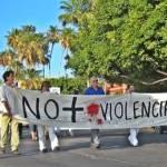 De igual manera que muchas ciudades de la república, también en La Paz y Los Cabos hubo manifestaciones de apoyo al movimiento nacional que encabeza el escritor mexicano Javier Sicilia motivado por el sangriento crimen en que su hijo perdió la vida en la ciudad de Cuernavaca Morelos.