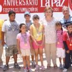 Los ganadores fueron: Francisco Miguel Reyes Juárez con una cabrilla de 710 gramos, Santos Guadalupe Espinoza Castillo con un pargo de 465 gramos y Josué Cruz Aguilar con una cabrilla de 290 gramos.