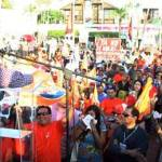 Acabar con el modelo económico neoliberal, autosuficiencia de recursos para el país, soberanía. Después de la Independencia, la Reforma y la Revolución, MORENA será el siguiente cambio de México. La vía es la organización. En pocas palabras este fue el mensaje de Andrés Manuel López Obrador .