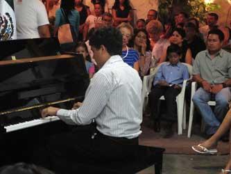 Ofrecen recital en el Centro Cultural Roger de Conynck
