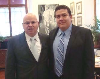 En días pasados tuvieron una reunión de trabajo en la ciudad de México el Subsecretario de Educación Superior, Dr. Rodolfo Tuirán Gutiérrez, y el Rector de la UABCS, M. en C. Gustavo Rodolfo Cruz Chávez.