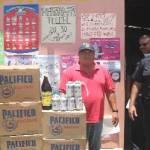 Pedro Abundis Tomás, de 42 años de edad, de ocupación contratista, originario del Estado de Guerrero, con domicilio en la Invasión El Caribe, se acreditó como propietario del negocio pero lo que no pudo acreditar es que tuviera los permisos del Ayuntamiento para la venta de alcohol.
