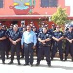 El objetivo de la reunión de trabajo en GN fue el dialogar y conocer a todos los comandantes de la parte norte refiriéndose a San Ignacio, valle el Vizcaíno, Guerrero Negro, y la zona pacifico norte.
