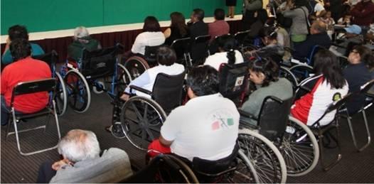 Sólo un 8 % de los discapacitados se beneficia de los programas de atención del ISAPD