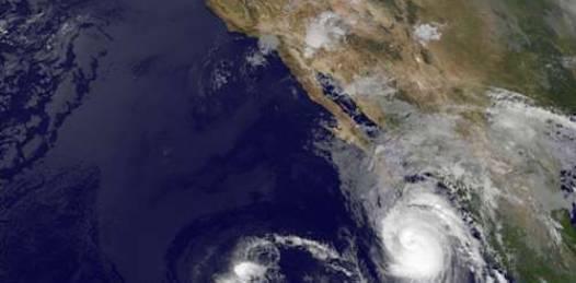 Podrían 3 huracanes categoría III  causar problemas en BCS