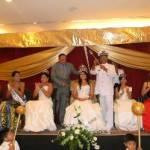 Durante la ceremonia de coronación de la reina, también fueron coronadas las princesas reales, Valeria y Paloma, las cuales estuvieron acompañadas de otras bellezas invitadas que engalanaron la ceremonia.