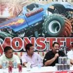 Por primera ocasión en el Estado, producciones Goliath trae a La Paz un espectáculo de monster trucks, donde los mejores pilotos de Estados Unidos vendrán a aplastar autos y dar impresionantes saltos y wheelies dentro del C. Nahl.