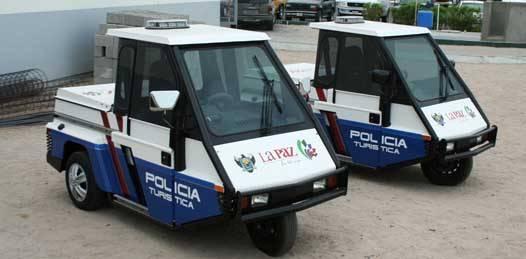 Dotarán de vehículos a la Policía Turística