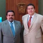El M. en C. Gustavo Rodolfo Cruz Chávez, Rector de la UABCS, y el Dr. Marco Antonio Cortés Guardado, Rector General de la UDG, tuvieron una reunión de trabajo en días pasados.