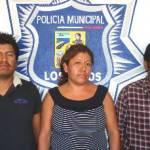 Rosendo de la Cruz García, Alicia Angelicano Godínez y Pedro Pérez Jiménez