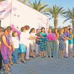 Durante el evento protocolario de entrega de este moderno equipo que se realizó en las instalaciones de La Querencia en San José del Cabo, quedó en claro la intención de trabajar de forma conjunta con programas preventivos de salud en beneficio de las mujeres.