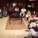 José Antonio Agúndez Montaño, luego de expresar lo anterior, sostuvo un encuentro de evaluación y planeación, dentro del marco de la propuesta de construcción del Centro de Convenciones de Los Cabos; el acercamiento fue con personal de la Presidencia de la República, Secretaría de Turismo de la Federación, así como de FONATUR.