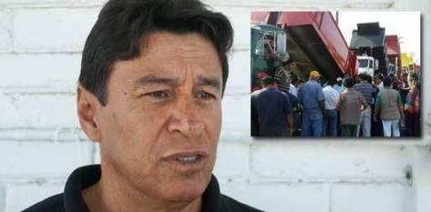 """No es tan sólo del gobierno anterior sino de todos los gobiernos: quienes más mal le han hecho al gobernador en turno son los grandes amigos que han tenido los gobernadores, precisamente del transporte"""", señaló Amadeo Murillo, dirigente estatal de la CTM."""