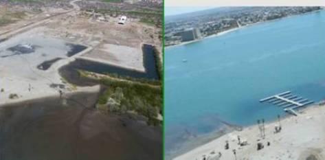 La empresa constructora Desarrollos Punta la Paz S.de R.L. DE C.V. se encontraba construyendo un camino de acceso al proyecto turístico sin contar con las autorizaciones correspondientes por parte de la SEMARNAT informó el delegado Pablo César Tamez Molina.