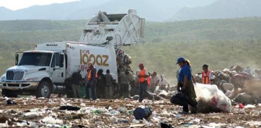 Destinarán 15 mdp para solucionar saturación del relleno sanitario de La Paz