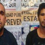 Daniel Alejandro Cardona Gallegos y Jorge Luis Murillo Espinoza.