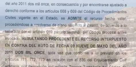 """Los campesinos aseguran que tienen cómo demostrar que lo que Juan Carlos Jiménez Fuentes, delegado de la SRA, justifica para no regularizar los terrenos de los campesinos de San Jacinto, """"es una mentira y con ello quieren entorpecer la solución del problema""""."""
