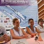 La nadadora Edna Llorens es la invitada especial. Junto a un grupo de 136 nadadores y nadadoras de todas las edades partirán de Pichilingue para llegar al malecón, a la altura de la calle Márquez de León. La llegada es alrededor de la una y media de la tarde.