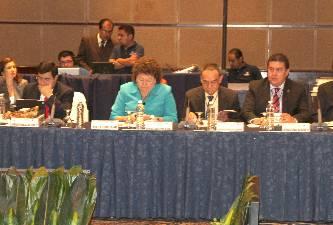 El M. en C. Gustavo Rodolfo Cruz Chávez, Rector de la UABCS, asistió a la XXXVII Sesión Ordinaria del CUPIA, que se llevó a cabo los días 10 y 11 de octubre de 2011, en la Universidad Autónoma de Nuevo León.