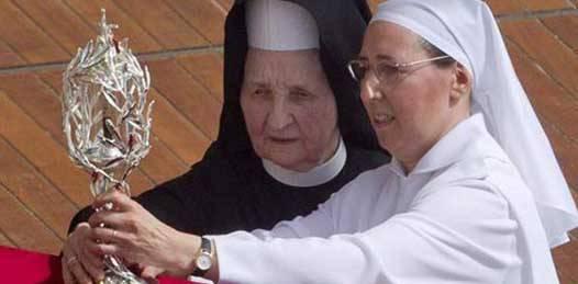 Recorrerán hoy las reliquias de Juan Pablo II el centro de La Paz