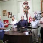 Mario Díaz de León fue presentado ayer como el delegado especial encargado de la Confederación Nacional Campesina (CNC) en el estado, relevando en el cargo al maestro Félix Mario Higuera Arce.