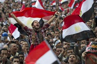 Ceden los militares en Egipto
