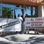 El día de ayer Impusieron clausura moral al Congreso del Estado por su falta de ética y legalidad, los maestros y ciudadanos incorporados al Frente Único de Defensa de la Autonomía de la Universidad Autónoma de Baja California Sur (FUNDAUABCS).