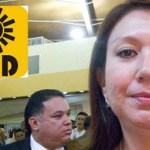 """""""Eso no quiere decir que me vaya a salir del PRD o que me vaya a ir al PAN"""", aclaró la diputada Edith Aguilar Villavicencio, del grupo parlamentario del Partido de la Revolución Democrática (PRD), luego de abstenerse de votar para aprobar la validez de la sesión del 17 de noviembre."""