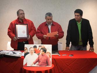 Dan nombramiento a Mario Díaz de León Valdivia como dirigente de la CNC