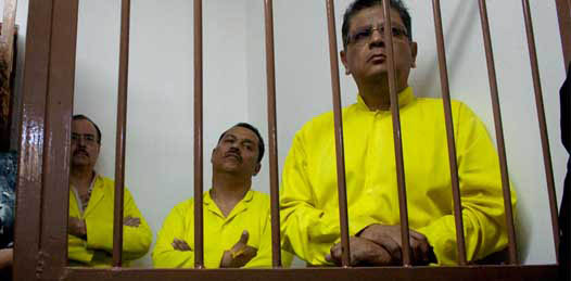 """Detienen a Luis Armando Díaz, Guillermo Jáuregui y """"Pipi"""" Ibarra"""