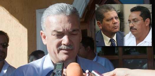 """""""No politizar"""" la detención de exfuncionarios pide el Gobernador. """"Es un asunto jurídico"""""""