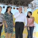 El Gobernador Marcos Covarrubias Villaseñor dio inicio formal al Teletón 2011 en Baja California Sur, en donde hizo hincapié en que todos deben ser generosos y contribuir a esta noble causa.