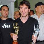 Al delantero argentino, Lionel Messi, le faltan por cumplir dos sueños: ser campeón del mundo y ganar la Copa América.