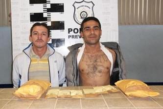 Los detuvieron por exceso de velocidad, pero les encontraron drogas