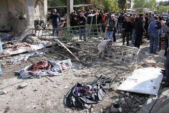 Deja doble atentado en Damasco más de 40 muertos