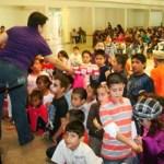 El SUTAUABCS organizó una posada navideña para los hijos del personal administrativo