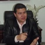 El rector de la Universidad Autónoma de Baja California Sur, M. en C. Gustavo Rodolfo Cruz Chávez.