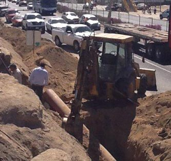 Normalizan el servicio de agua en San José