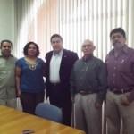 UABCS y UABC firmaron Convenio Específico de Colaboración Académica, Científica, Tecnológica y Cultural, el pasado 20 de enero de 2012, en la Sala de Rectores de la UABCS.
