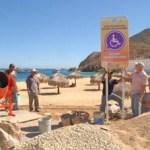 """Está en marcha una obra de remodelación en la playa """"La Empacadora""""."""