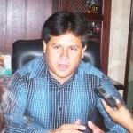 Ernesto Ibarra, dijo que buscan pulir la reforma para convertir en delito grave la invasión (Lupita Gómez)