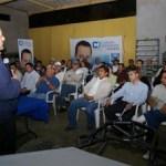 Carlos Mendoza Davis, se reunió con militantes activos y adherentes de Cabo San Lucas.