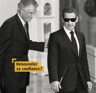 Dejan ciego a Sarkozy