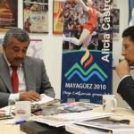 Los Directores del Instituto del Deporte y la Cultura Física de Baja California (INDE) y del Instituto del Sudcaliforniano del Deporte (INSUDE) sostuvieron una reunión de trabajo en el marco de la inauguración de la Olimpiada Regional en esta ciudad.