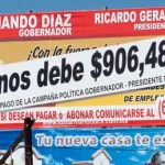 """Después de que, por la ciudad, la empresa de publicidad desplegara anuncios señalando al sol azteca como deudor de $906,487.92 pesos, Cota Montaño saldría a defender al partido, asegurando que """"no hay por parte del PRD ningún convenio firmado con esa empresa, el PRD no le debe absolutamente nada"""""""