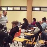 """Se inauguró en la UABCS el curso de especialización """"Otras formas de saber hacer ambiental"""", el pasado 1 de febrero de 2012, en el edificio de Posgrado."""