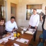 Firmaron convenio la SEP, Ayuntamiento, SSA, Derechos Humanos y Círculo Azul para prevenir la diabetes.